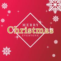 Download vector Kartu Ucapan Natal dan Tahun Baru