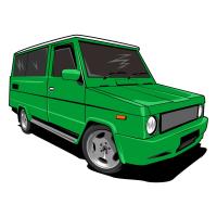 Download Vector Mobil Kijang Klasik cdan modern